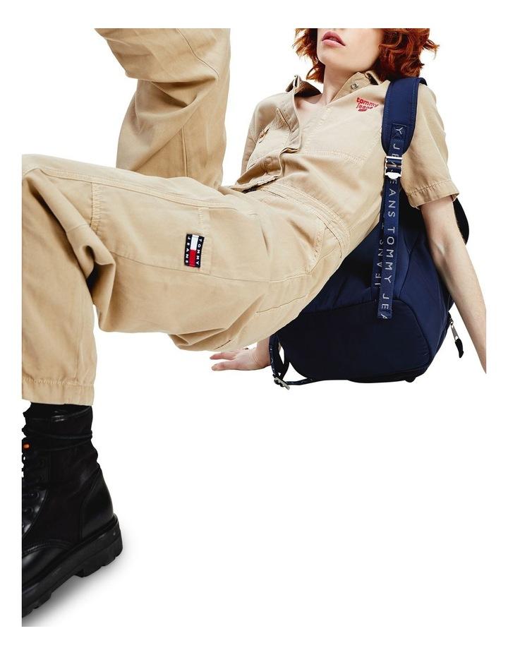 Short Sleeve Utility Jumpsuit image 3