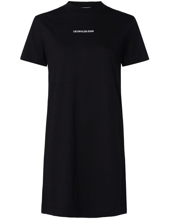 T-Shirt Dress With Mesh Tape image 2