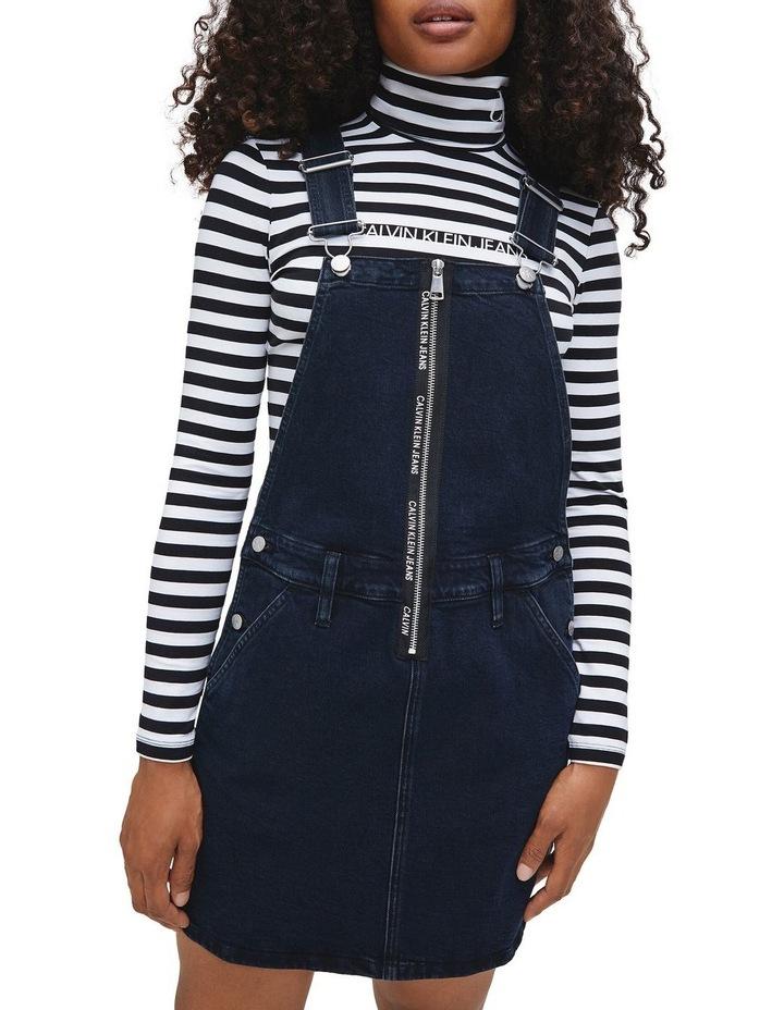 Dungaree Zip Dress image 1