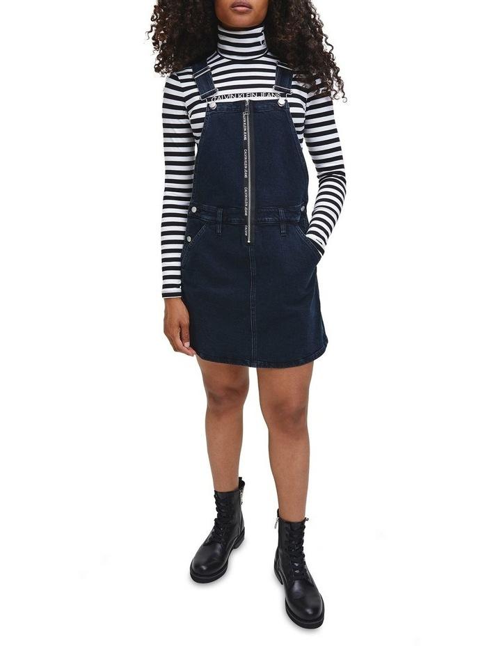 Dungaree Zip Dress image 2