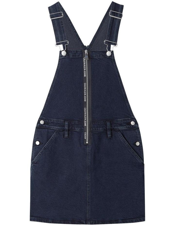 Dungaree Zip Dress image 3