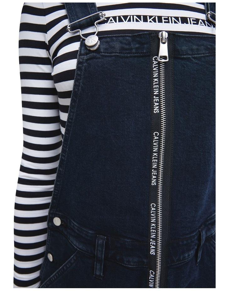 Dungaree Zip Dress image 4