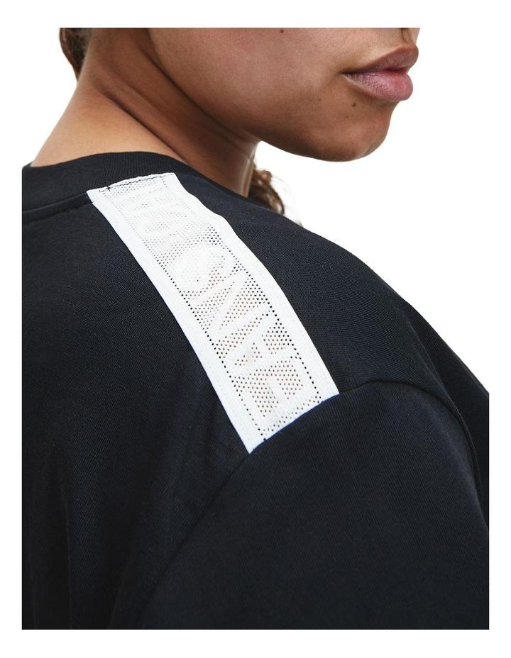 Plus Mesh Tape T-Shirt Dress image 2