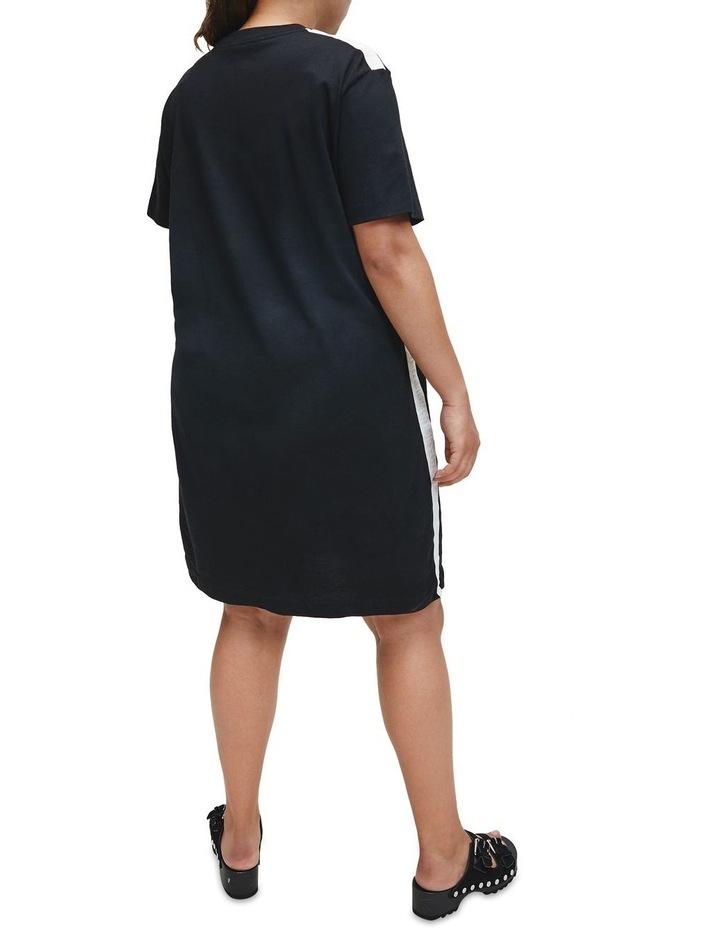 Plus Mesh Tape T-Shirt Dress image 4