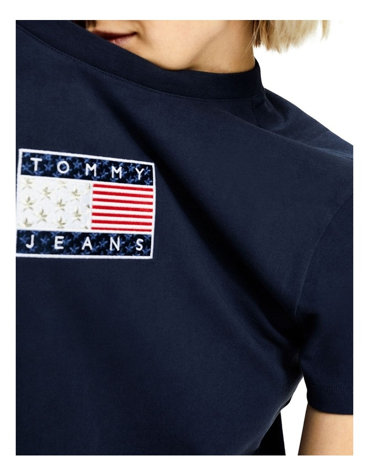 TJW Tommy Logo Tee Dress image 3