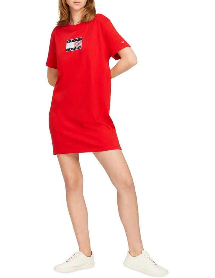 TJW Tommy Logo Tee Dress image 1