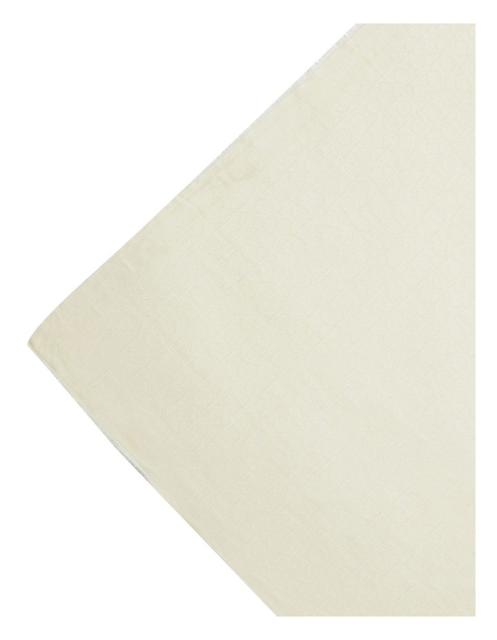 Mono Jacquard Scarf image 2