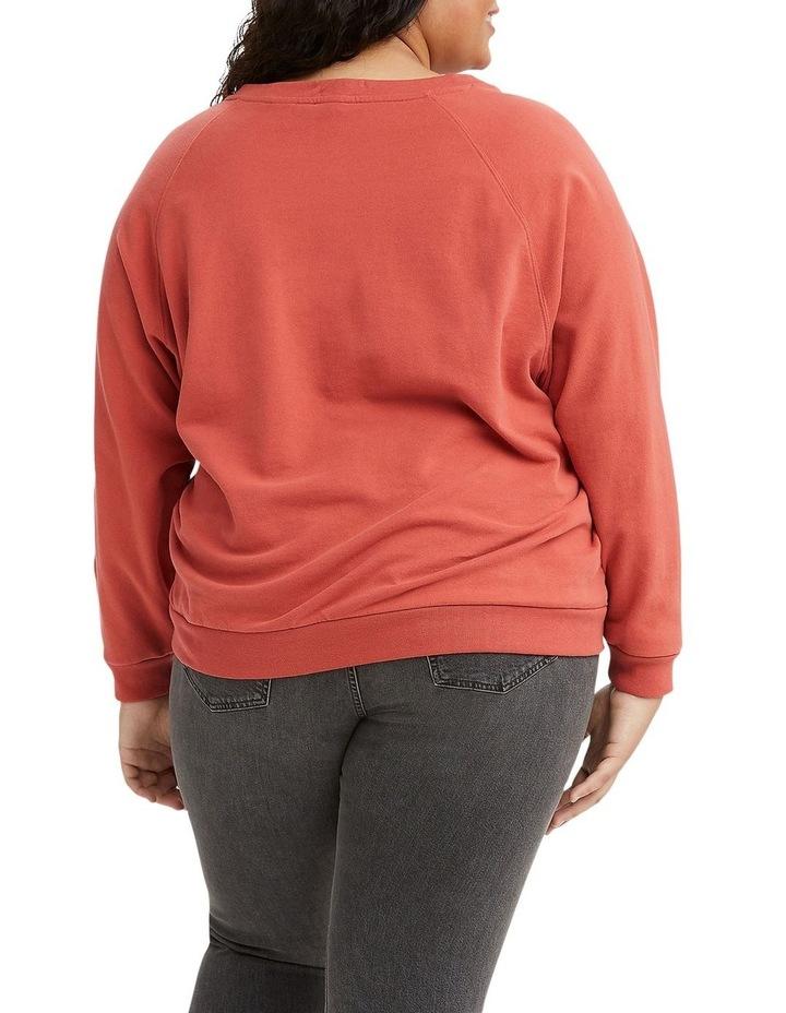 Plus Size Vintage Raglan Sweatshirt image 2