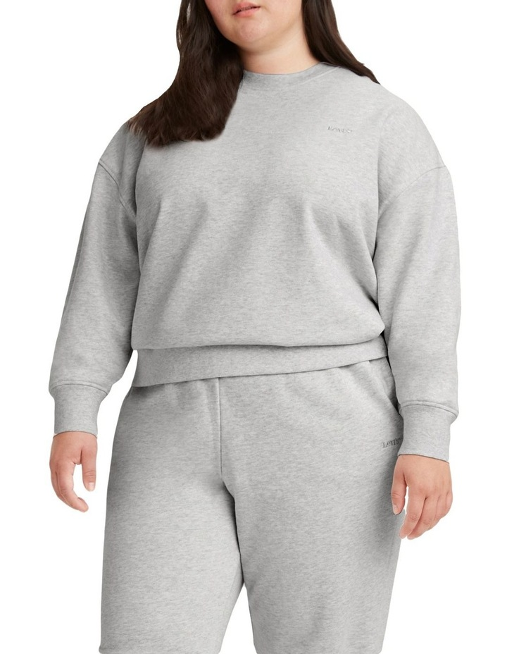 Curve Work From Home Sweatshirt image 1