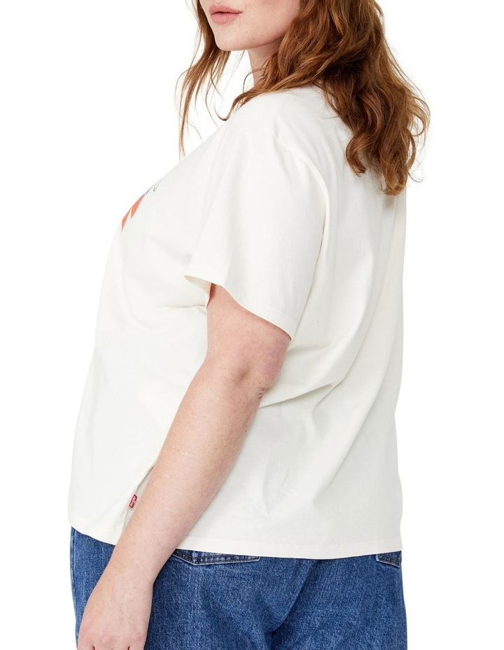 Curve Graphic Varsity T-Shirt image 2