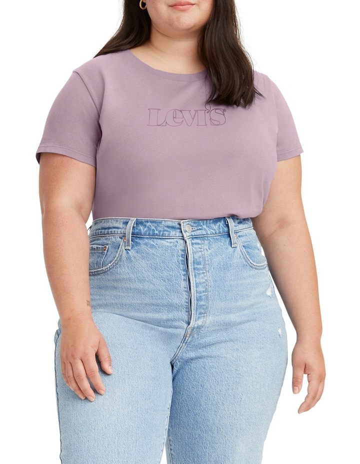 Curve Logo Perfect T-Shirt Winsome Orchid image 1