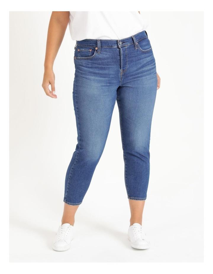 Plus Wedgie Fit Skinny Jeans image 1