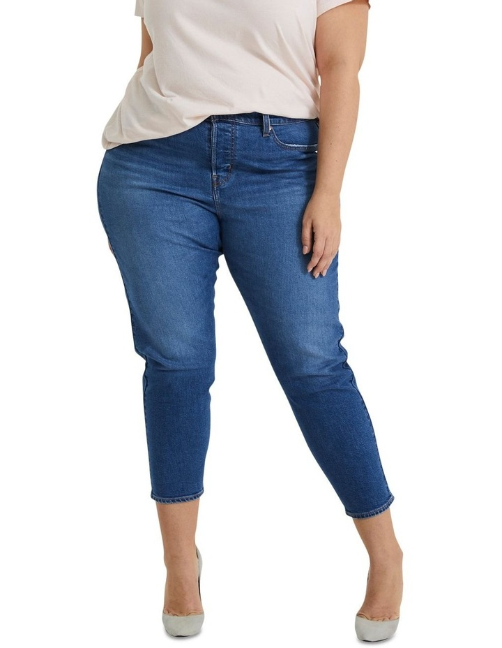 Plus Wedgie Fit Skinny Jeans image 1