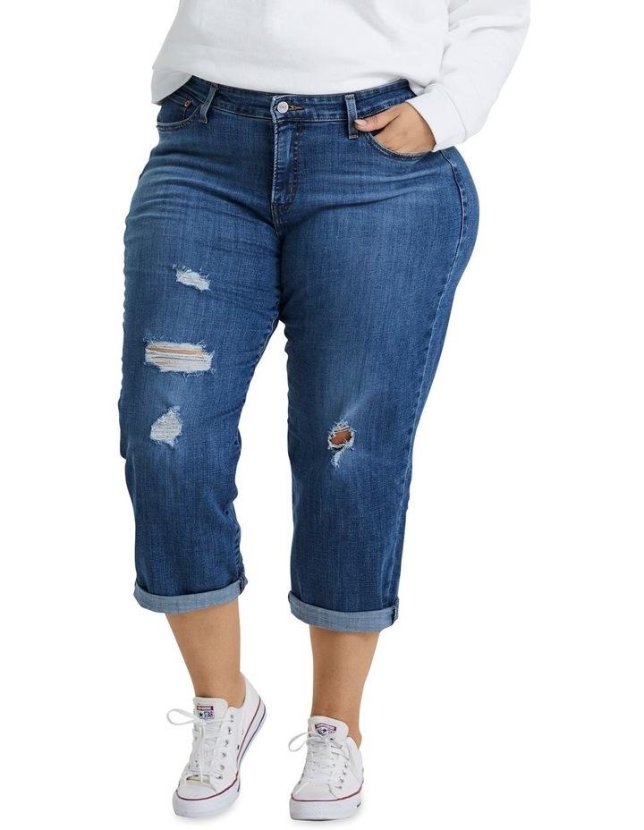 Plus Boyfriend Jeans image 1