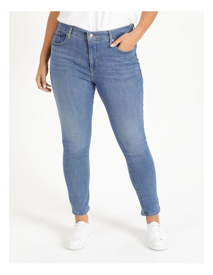 Shaping Skinny Slate Racer Jeans image 1
