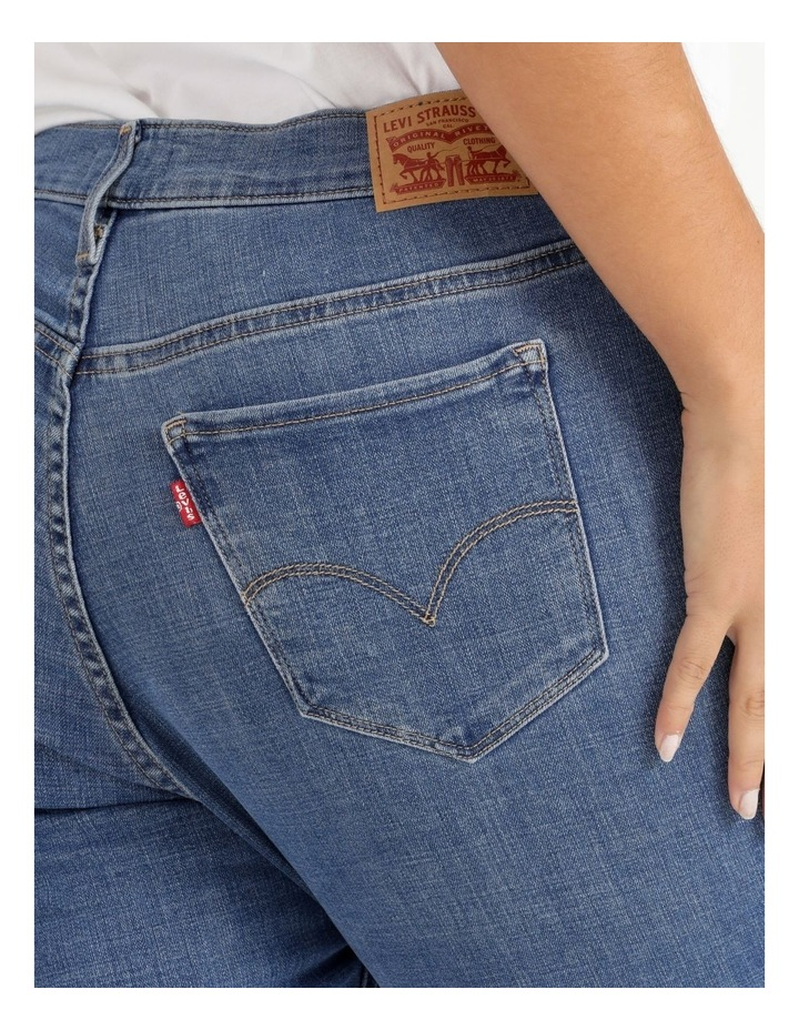 Shaping Skinny Slate Racer Jeans image 6
