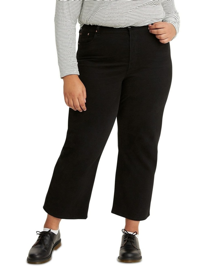 Plus Size Ribcage Straight Ankle Jeans image 1