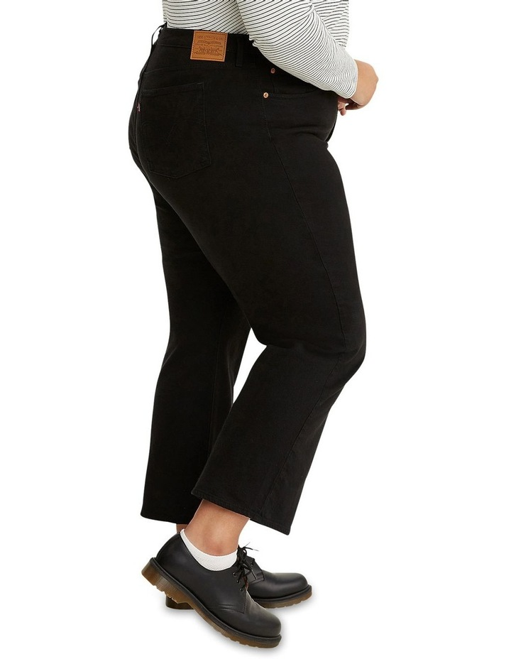 Plus Size Ribcage Straight Ankle Jeans image 2