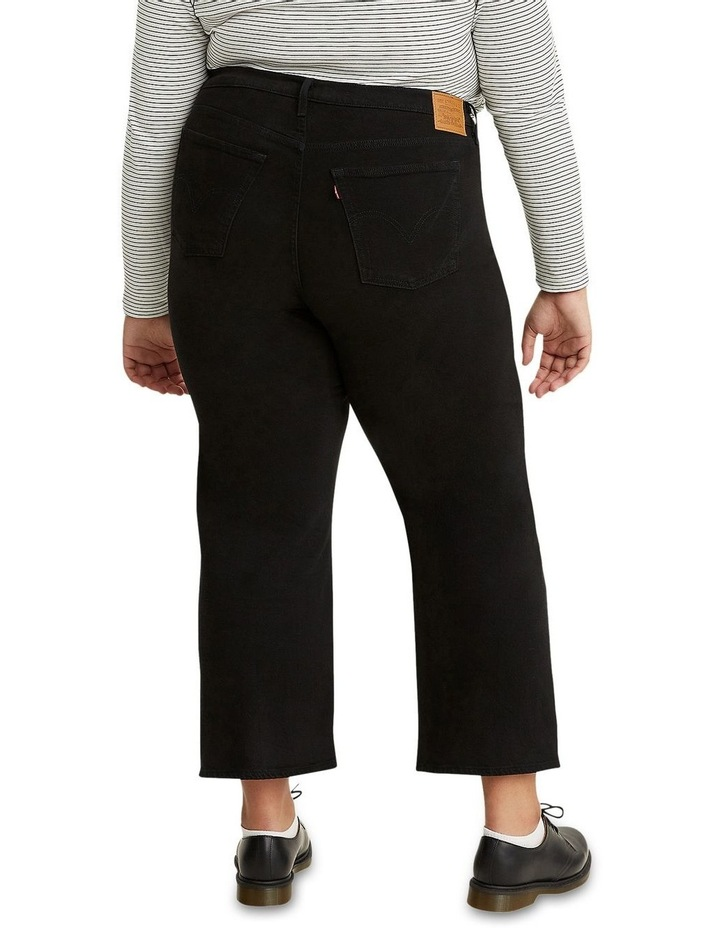 Plus Size Ribcage Straight Ankle Jeans image 3