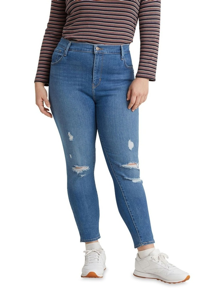 Plus Size 720 High-Rise Super Skinny Jeans image 1