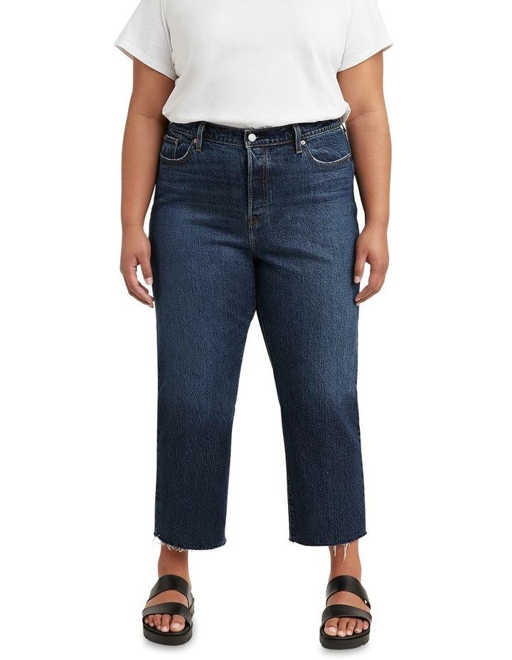 Curve Wedgie Salsa Roll Plus Straight Leg Jean image 1