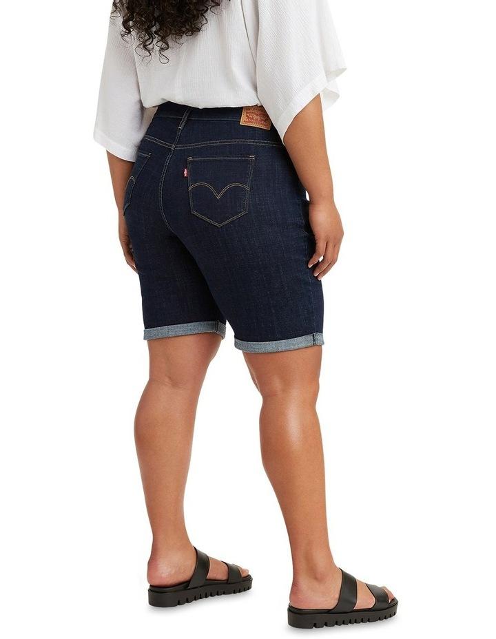 Curve Shaping Bermuda Jean Shorts image 2