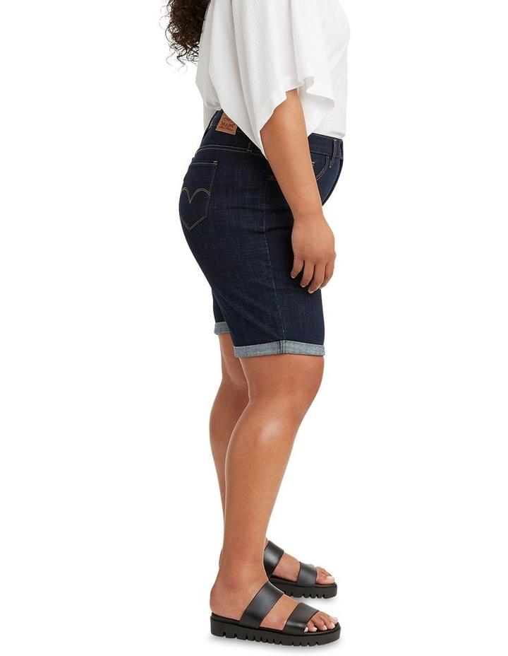 Curve Shaping Bermuda Jean Shorts image 3