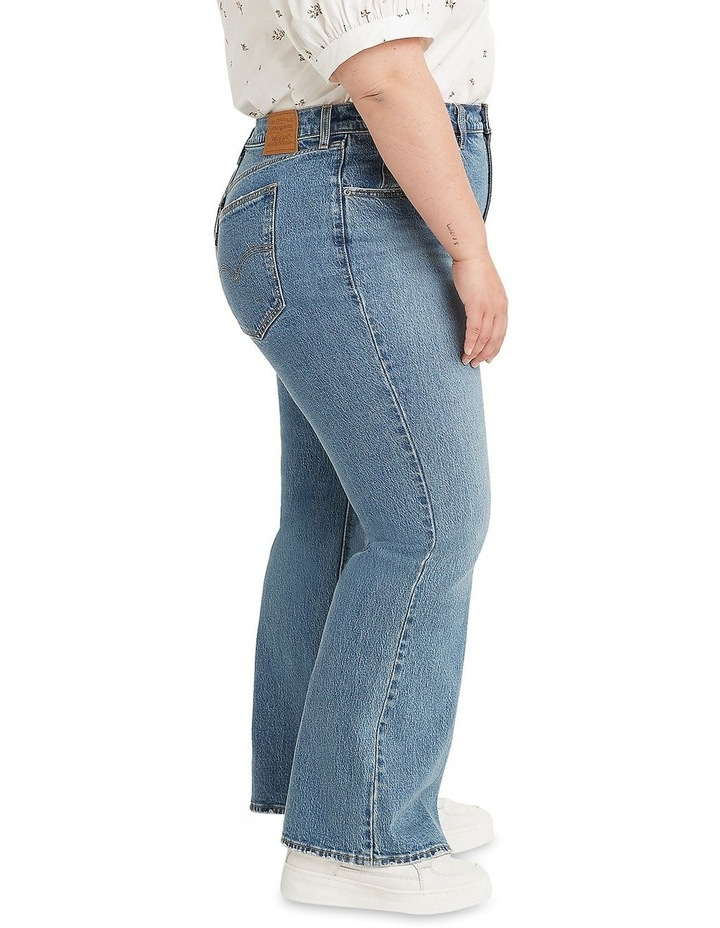 Curve 70s High Flare High Waisted Jean image 3