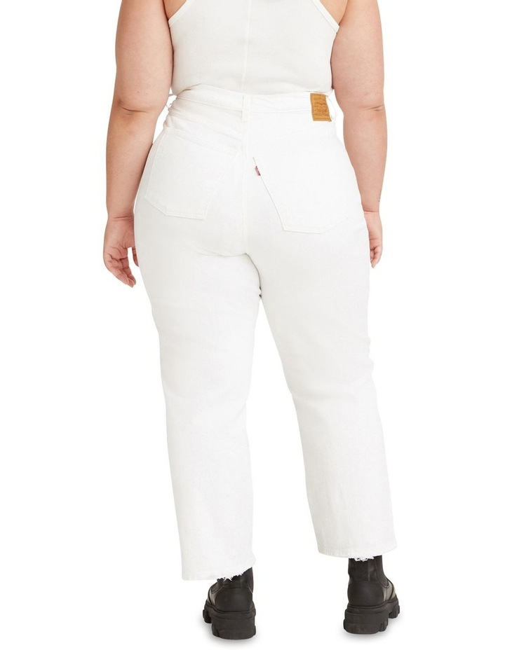 Curve Ribcage Straight Ankle Jeans image 2
