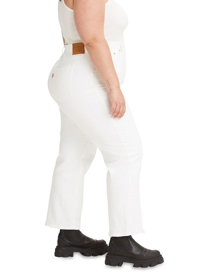 Curve Ribcage Straight Ankle Jeans image 3