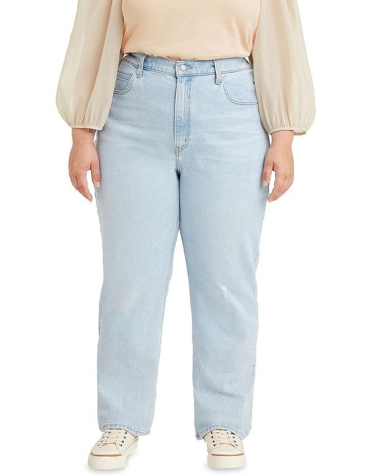 Curve '70S High Slim Straight Jeans image 1