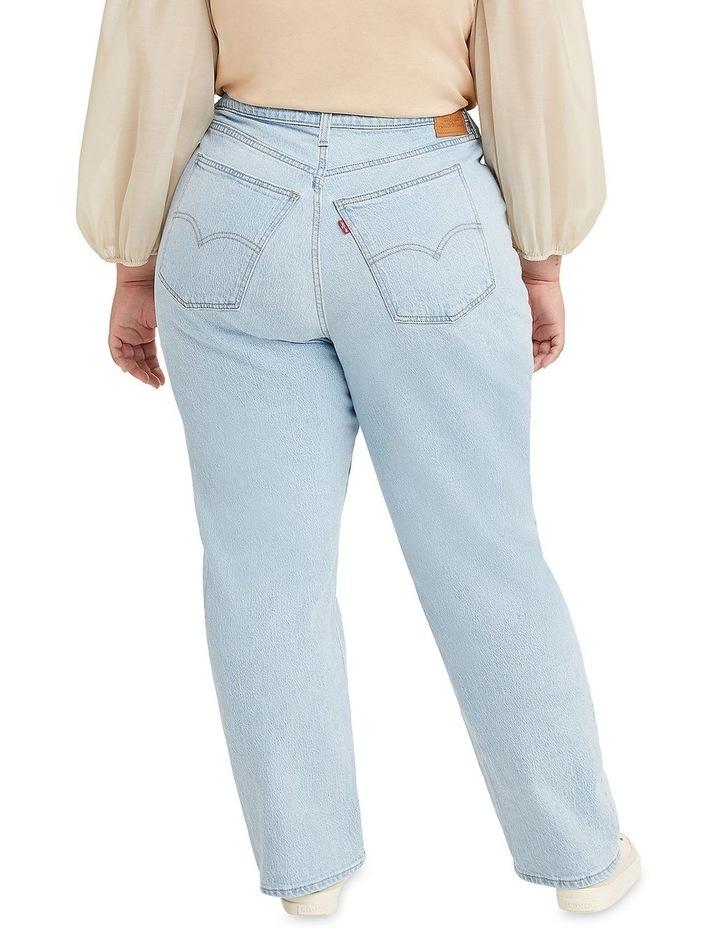Curve '70S High Slim Straight Jeans image 2