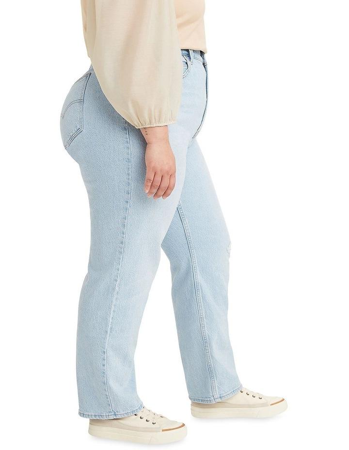 Curve '70S High Slim Straight Jeans image 3
