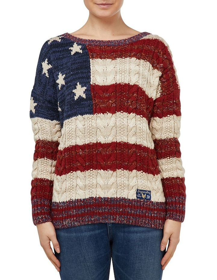 AMERICANA CABLE KNIT image 1