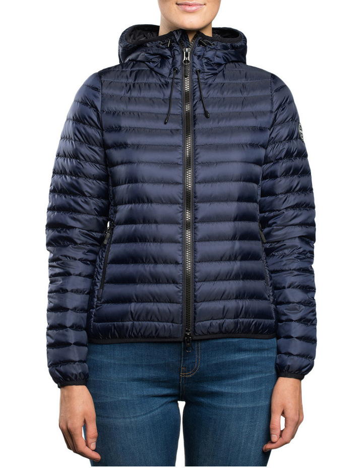 Core down Hooded Jacket image 1