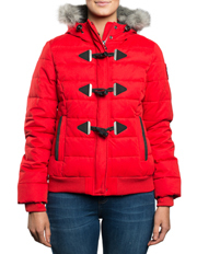 Superdry - Microfibre Toggle Puffle Jacket