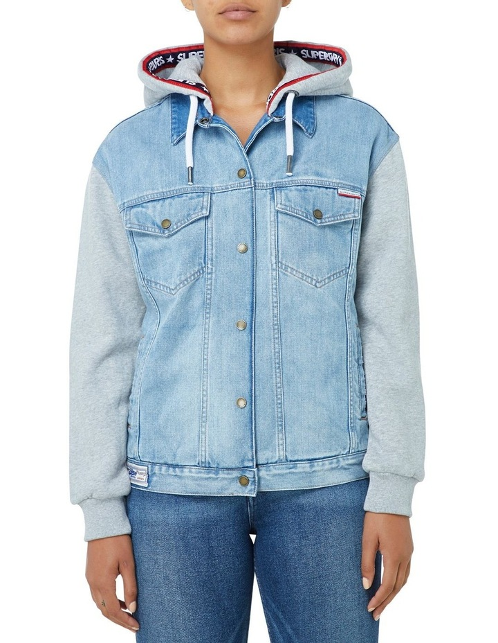 Denim Sweat Jacket image 1