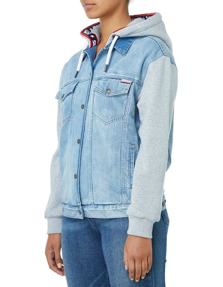Denim Sweat Jacket image 2