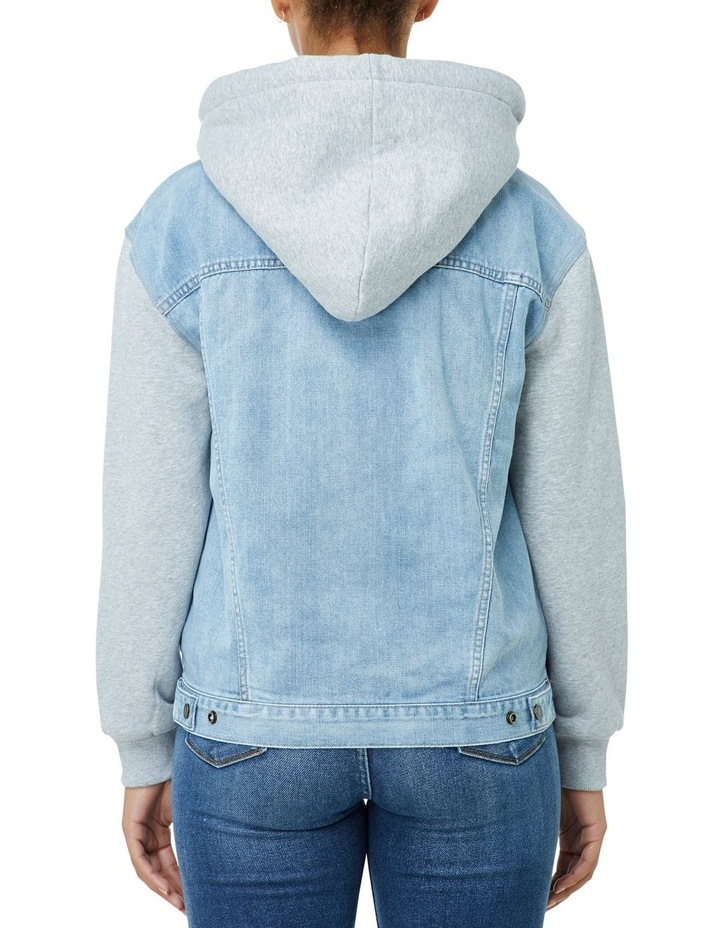 Denim Sweat Jacket image 3