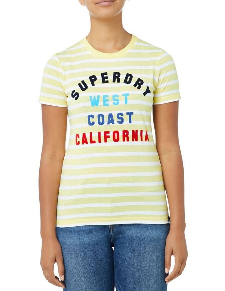 West Coast Stripe Entry Tee image 1