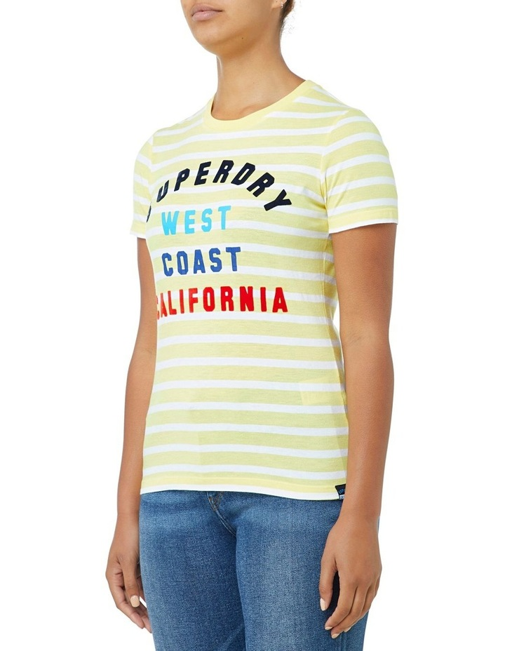 West Coast Stripe Entry Tee image 2