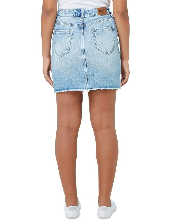 Denim Mini Skirt image 3