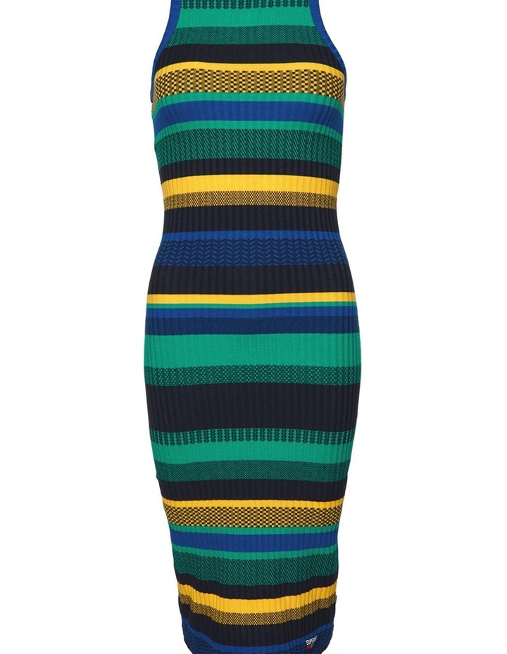 Knitted Stripe Midi Dress image 7