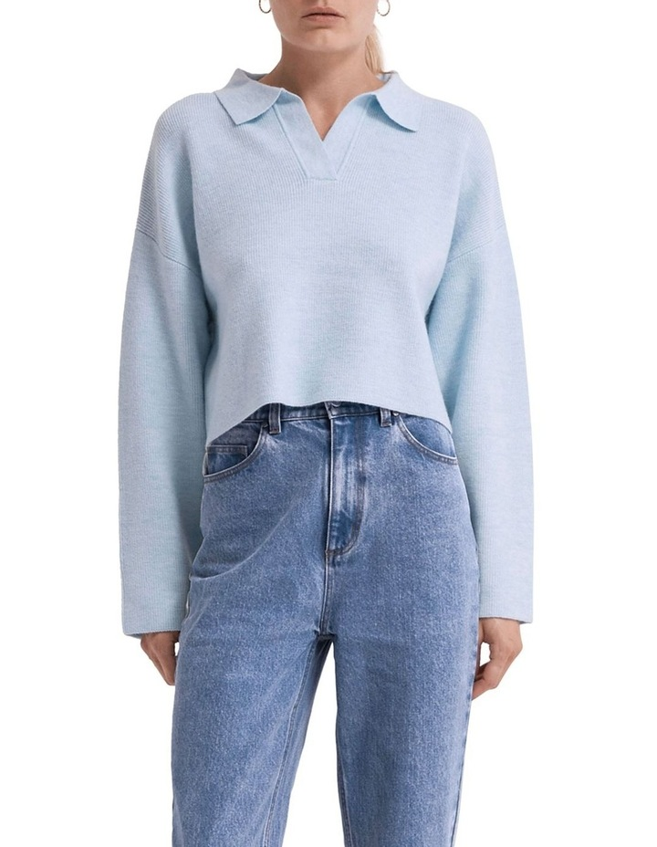 Oversized Collared Knit image 3