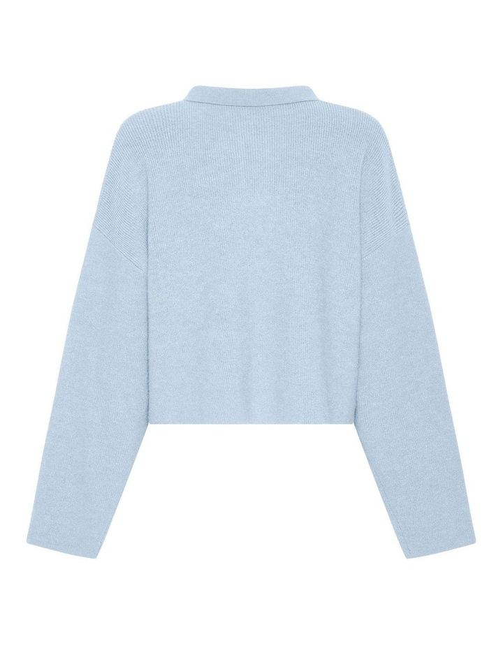 Oversized Collared Knit image 4