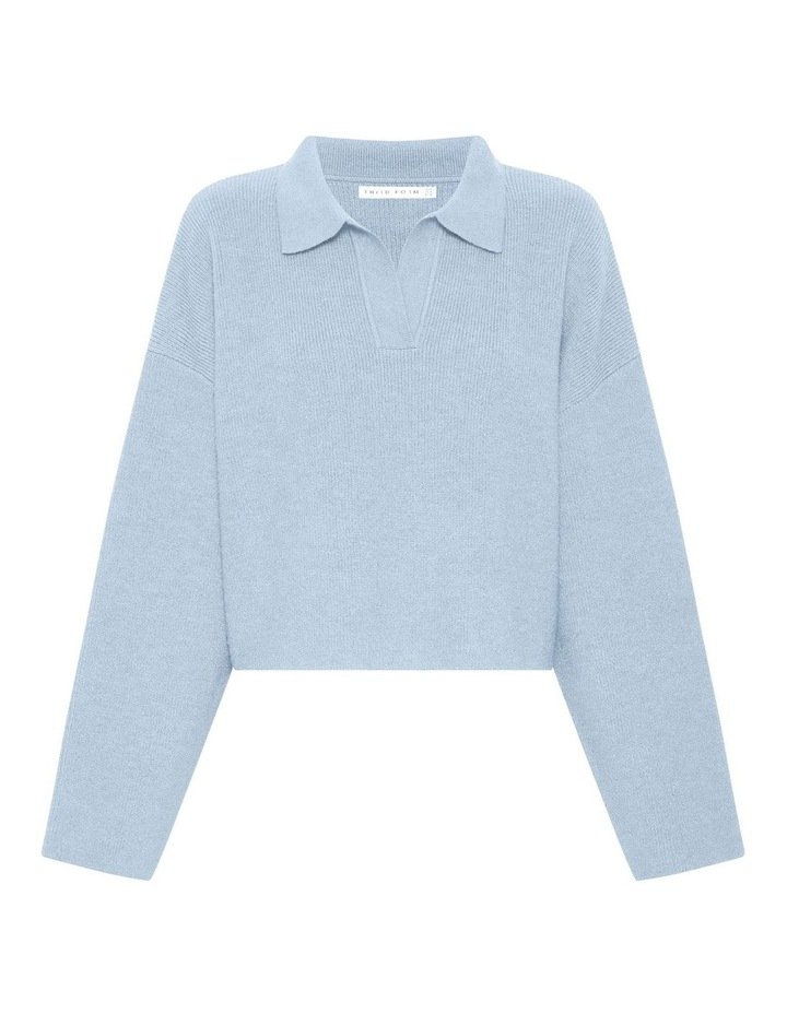 Oversized Collared Knit image 5