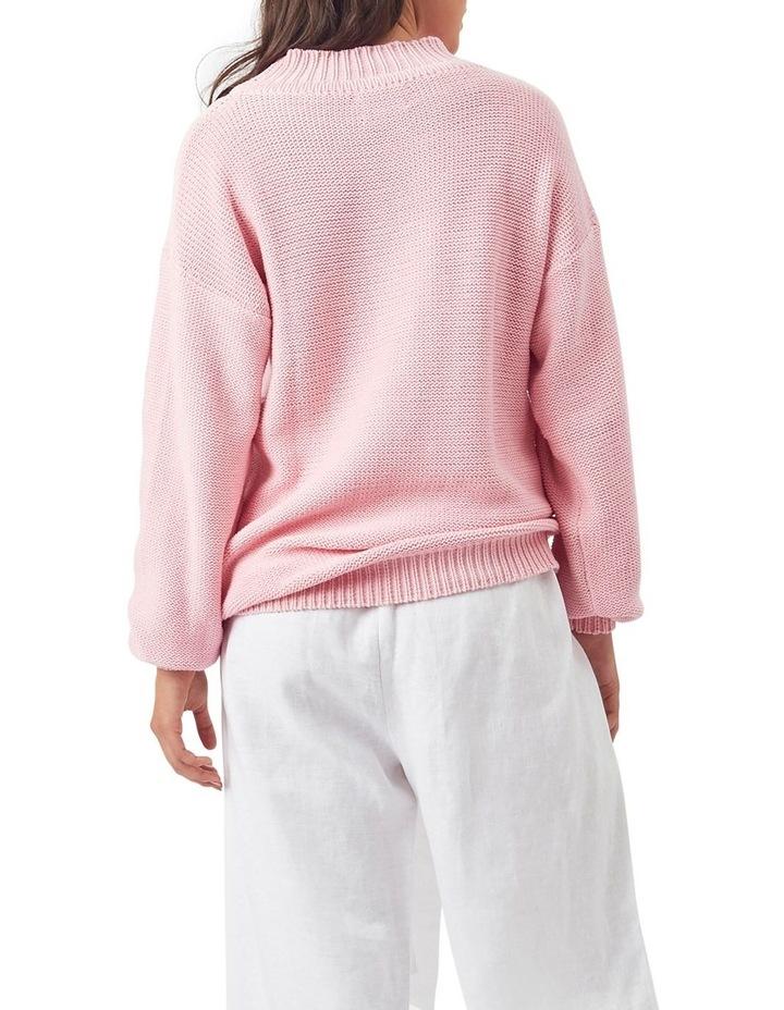 Fishermans Knit Jumper Pink image 3