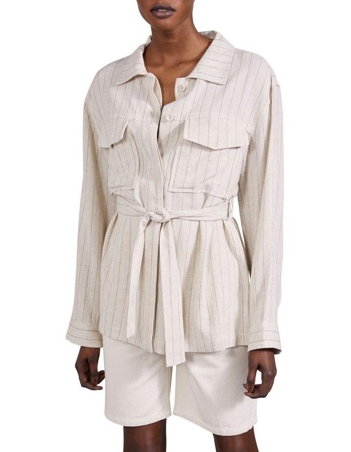 Picnic Stripe Tailored Pocket Jacket image 1
