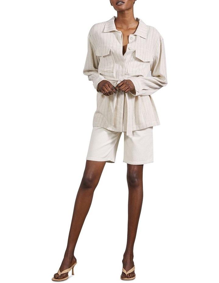 Picnic Stripe Tailored Pocket Jacket image 4