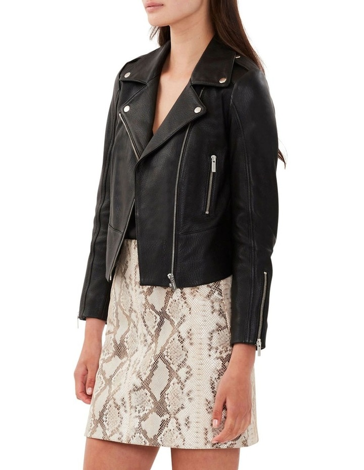 All Day Black Leather Jacket image 1